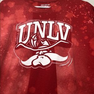 Other - UNLV Custom distressed/ bleached t-shirt